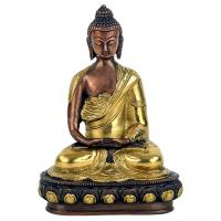 Buddha Gold und Kupfer
