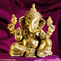 Ganesha Statue Messing